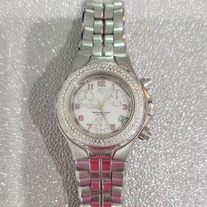 TechnoMarine Diamond Chronographic Watch